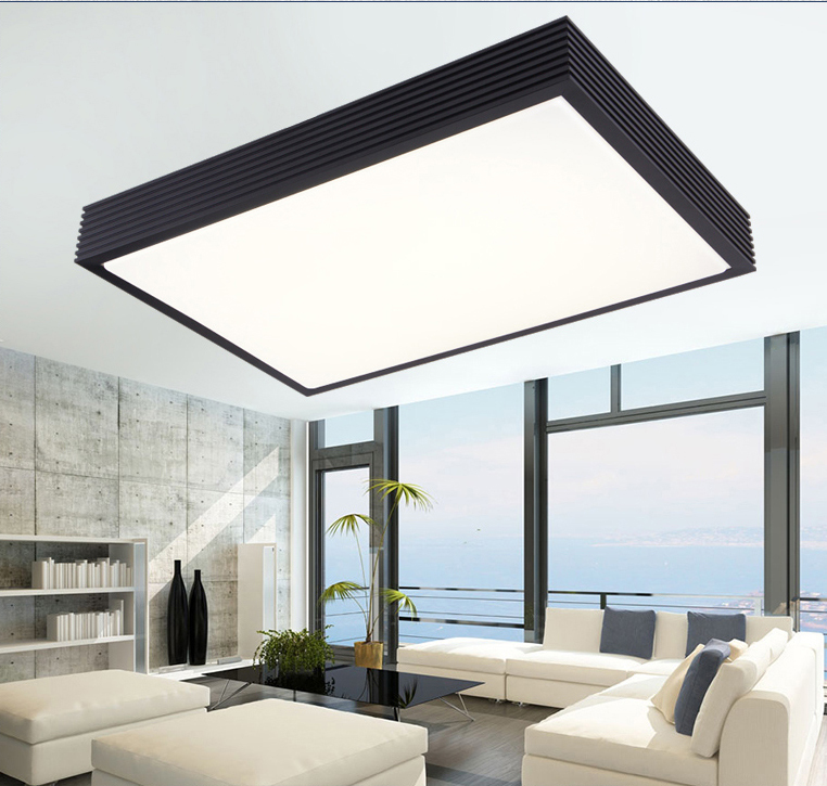 Buy modern led ceiling lights lamp for living room bedroom home decoration for Moderne deco