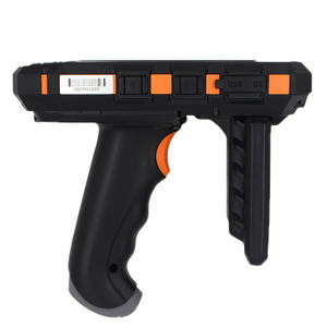 Image 4 - SM DT510 escáner de código de barras portátil Android inalámbrico, resistente, Bluetooth 4G, Wifi, POS, Terminal LF RFID UHF, lector PDA con agarre de pistola