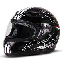 BYE Motorcycle Helmet Motocross Crash Helmet Breathable Comf