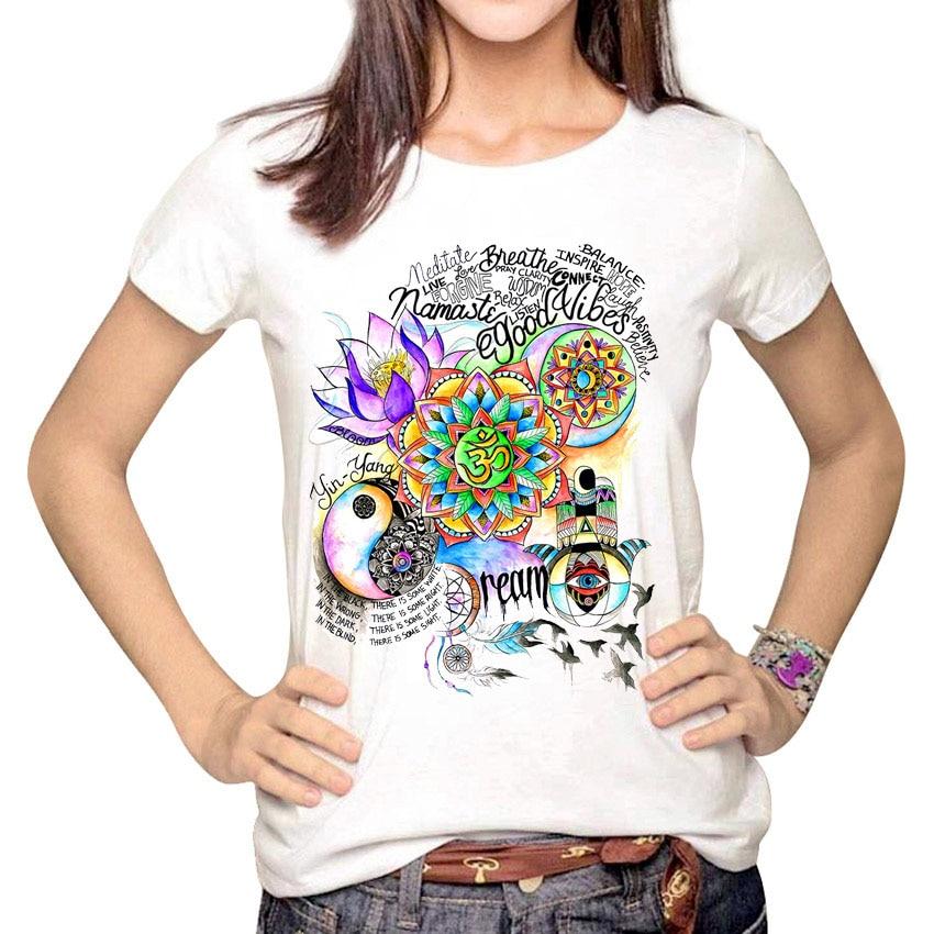 Women's Good Vibes Print T-Shirt 1