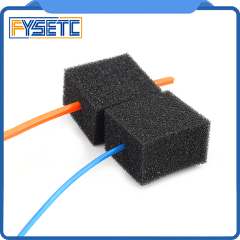 1 Set 3D Printer Parts Consumable Cleaner 1.75/2.85/3.0mm PLA ABS PETG Filament Feed Dust Removal for PRUSA I3/Ender-3/CR-10