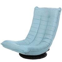 LK30 Basit Modern Ayarlanabilir Ay Sandalye 150 kg Taşıyan Katlanabilir Rahat Tembel Kanepe 360 Derece Rotasyon Kanepe Oturma Odası Mobilya