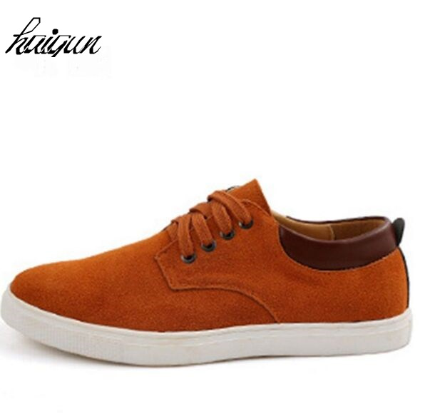 Big size38-49 New quality men's genuine suede leather loafers shoes,Handmade casual man flats moccasins men shoes  driving shoes brand fashion men shoes quality leather loafers eu size 38 44 soft rubber sole man casual driving shoes