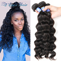 Brazilian Virgin Hair Loose Wave Brazilian Hair Loose Wave 10A Grade Virgin Unprocessed Human Hair Cheap Brazilian Hair 4Bundles