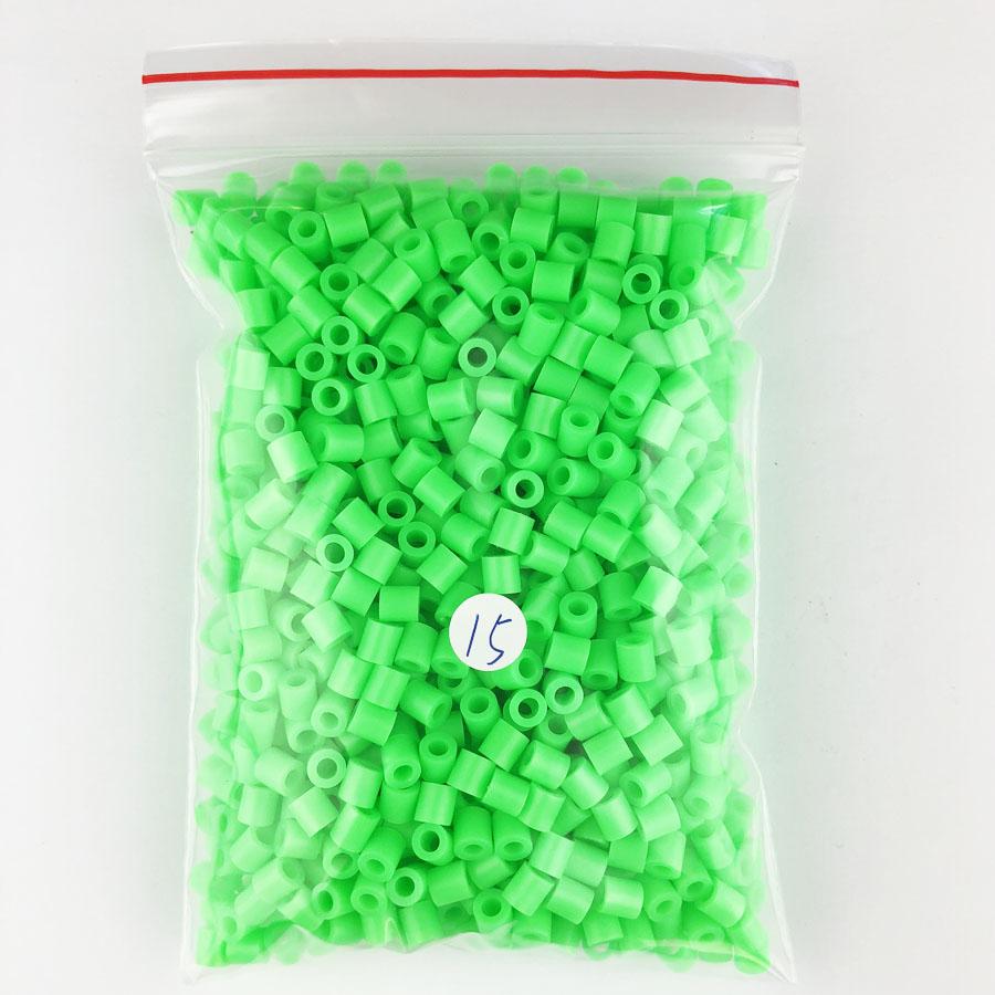 1000 pcs/Bag 5mm Hama Beads/ PUPUKOU Iron Beads KID FUN.Diy Intelligence Educational Toys Puzzles 23