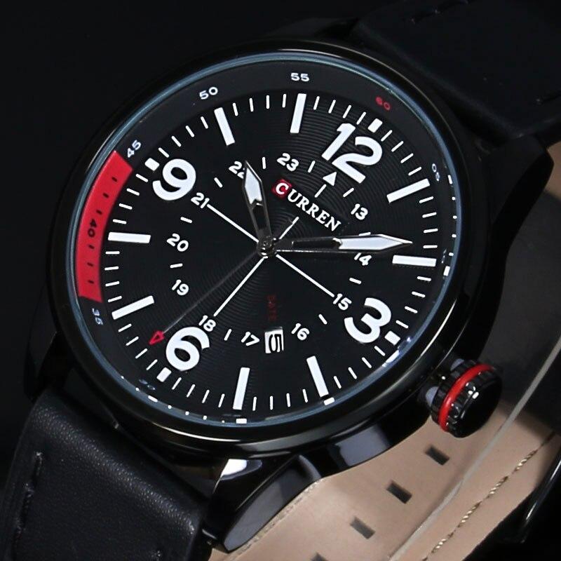 Sports Watches Quartz Military Luxury Brand Clock Man Men's Casual Fashion Auto Strap
