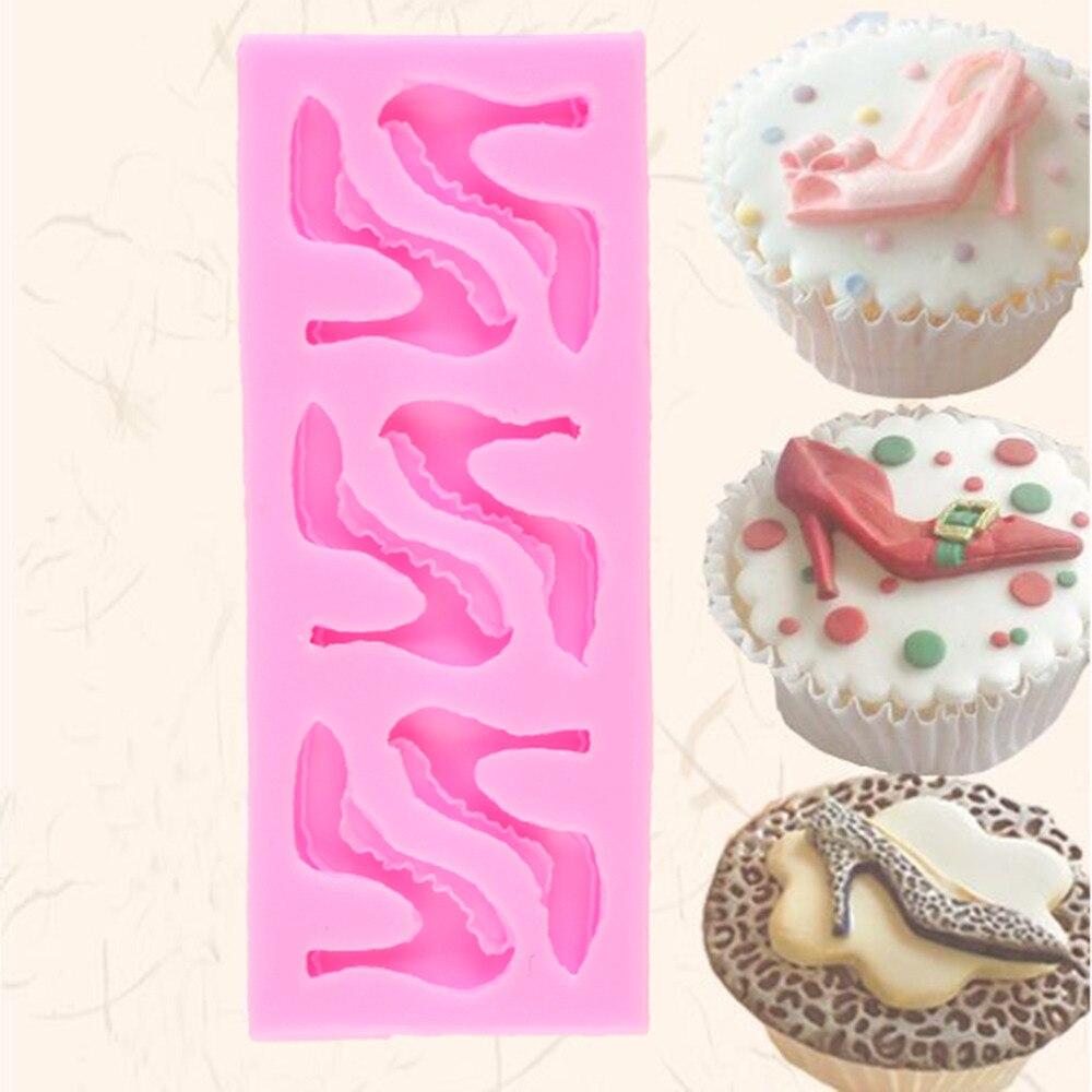 HOT 3D Animaux Fondant Moule En Silicone Gâteau Chocolat Décoration Outil Moule W