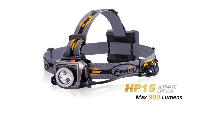 Fenix HP15 UE Cree XM L2 LED Headlamp 900 Lumens LED Headlight Flashlight Torch Free Shipping