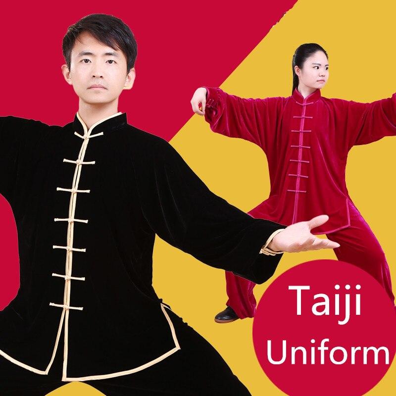 Haute qualité enfants adultes Lightcotton Tai chi uniforme enfants arts martiaux costume Kung fu Wushu vêtements taiji vêtements veste + pantalon