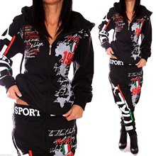 2019 spring New 7color Women Fashion 2 Parts Hooded Sweatshirt and Pants Set Tracksuit Sportswear Suit Matching Sets S-4XL