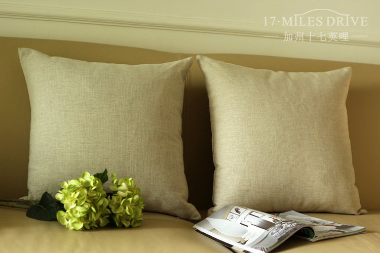 Aliexpress Buy High Quality Solid Color Cushion Cover Plain