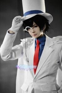 Image 4 - Uniformes le fantôme pour enfant, Costume de Cosplay, détective CONAN Magic Kaito, 7/lot