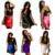 Feitong Señoras de la venta Caliente de Las Mujeres Lencería Sexy Ropa Interior ropa de Dormir Ropa De Dormir Mini Vestido Negro Más El Tamaño XL ~ 4XL Envío Libre 26-7F