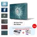 Пулевые Отверстия Трещины Pattern Ноутбука Чехол Для Apple Mac Pro 15 Воздуха 11 Воздуха 13 Крышка Macbook Pro 13 15 Дюймовый Retina A1502 Компьютер мешок