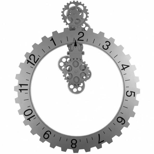 Classic Creative Home Of The Continental Bell Gear Clock Unique Amazing DIY  Home Wall Clock Admirable