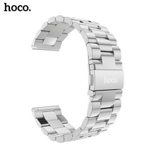 hoco New 22mm Stainless Steel Watchband for Samsung Gear S3 Classic Frontier Smart Watch Band Wrist Strap Link Bracelet Silver 22mm stainless steel watchband tool for gear s3 metal clip band watch strap wrist bracelet for samsung gear s3 classic frontier