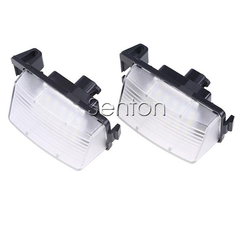 1Pair Car LED number License Plate Light 12V White SMD LED canbus lamp Car Styling For Infiniti Nissan Skyline V36 G35 G37 350Z nikko машина nissan skyline gtr r34 street warriors 1 10 901584 в перми