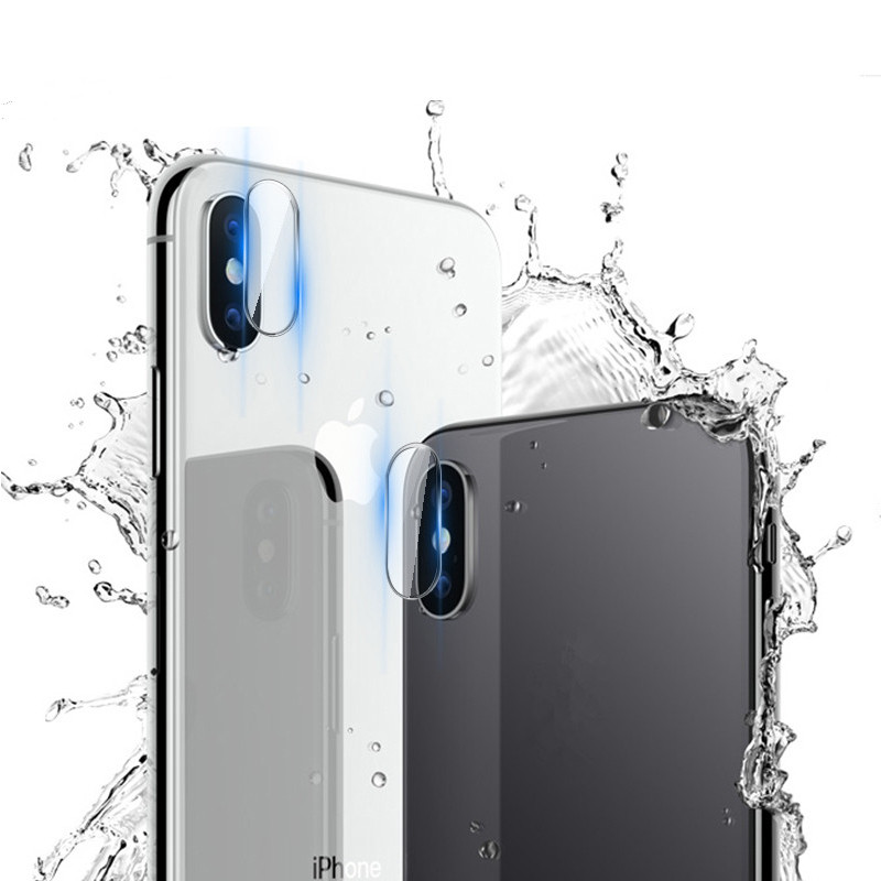Screen Protector Camera Len Film 8plus 7plus For IPhone X 8 7 Plus Back Protector Len Iphone XR 8 Plus Screen Cover XS MAX Glass