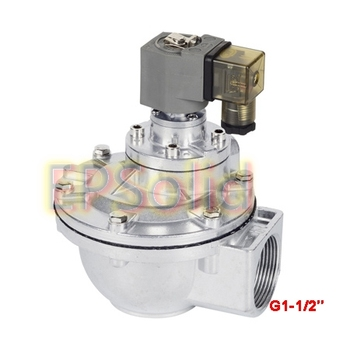 """Free Shipping 1-1/2"""" 2 Way Pulse Solenoid Valve Normally Closed DMF-Z-40S"""