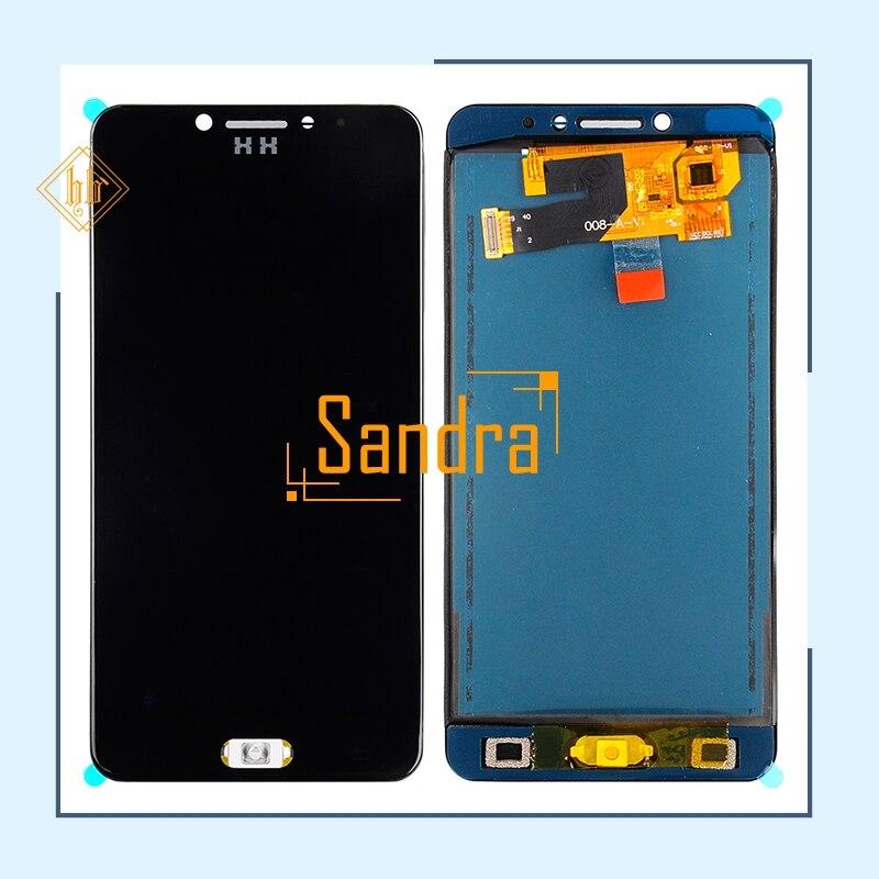 C7lcd Pour Samsung Galaxy C7 Pro C7010 SM-C7010Z LCD Display + Écran Tactile Digitizer Assemblée Livraison Gratuite + outils