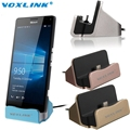 VOXLINK USB 3.1 Type-C Dock Station Sync Data Desktop Charger for Samsung Galaxy S7 S6Edge Nexus 6P 5X Xiaomi Mi4c M5/Mei