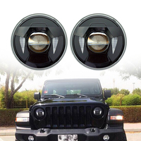Projector LED Headlight with DRL and JL connecter for 2018 Jeep wrangler JL 9 16V