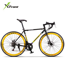 New brand Retro 27 speed racing bike 700C 50cm bike Aluminum alloy frame Bend bicycle pedal