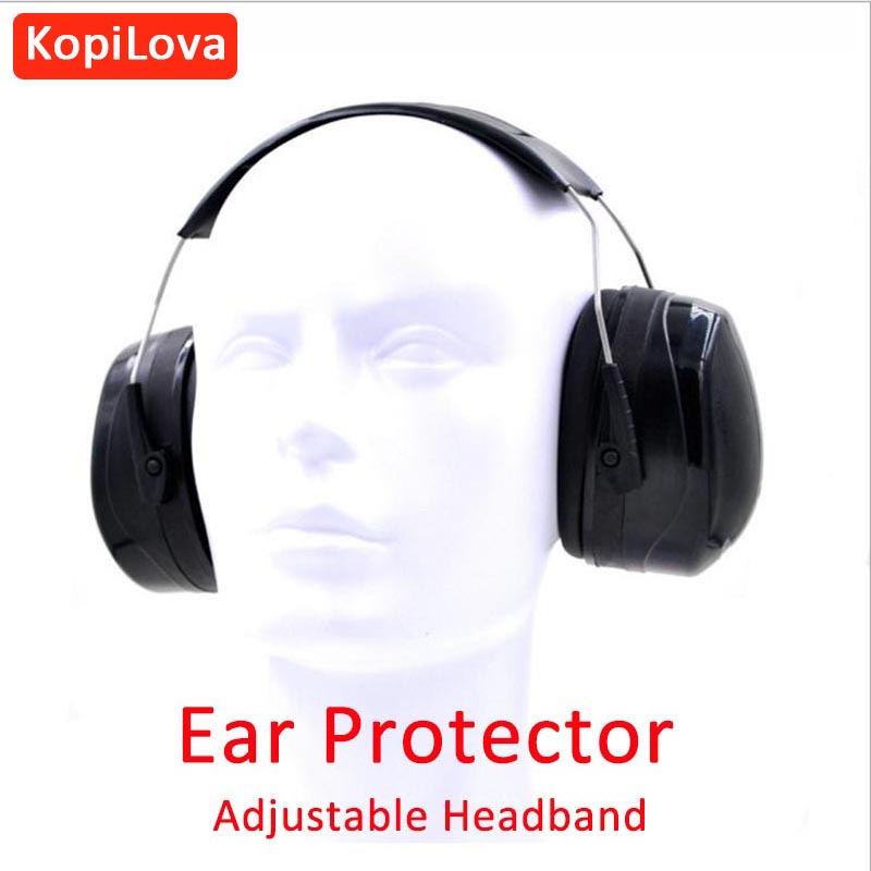 KopiLova 10pcs Professional Hearing Protection Ear Muffs Noise Reducer Ear Protector Sound Proof For Sleeping Studying Working new professional soundproof foldaway durable protective ear plugs for noise ear muffs hearing ear protection