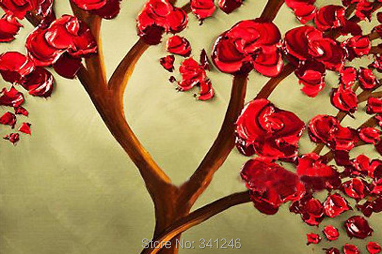 Fantastic Wall Art In Red Adornment - Wall Art Collections ...