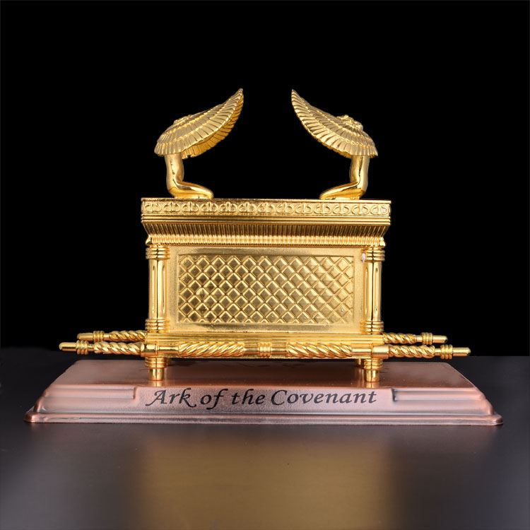 Christian Catholic Handicrafts and Gift of Gold Ark of The Covenant Gold plating Church Supplies Jesus Ark Biblical Holy Bible gift gifts gift gold gift supplies -