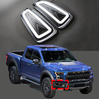2*LED Plating Daytime Running Lights Drive Lamps DRL For Ford F-150 SVT Raptor