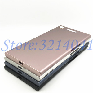 Image 4 - New Metal Battery Housing Door For Sony Xperia XZ1 G8341 G8342 Back Cover Case Battery Door Back Cover Housing Frame With Logo