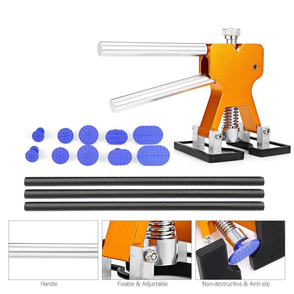 цена на PDR Tools Paintless Dent Repair Tools Dent Removal Dent Puller Tabs Dent Lifter Hand Tool Set PDR Toolkit Ferramentas