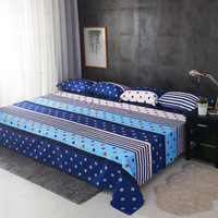 Cotton Polyester Flower Plants Printing Bed Sheets Large Size Tatami Bed Flat Sheet Bed linings 230x350cm Sanding Artwork