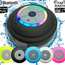 Water Resistant Bluetooth LED Shower Spe