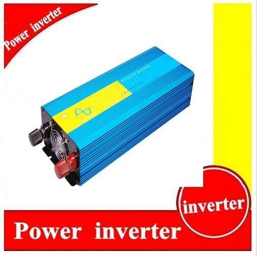 цена на Pure Sine Wave Solar Power Inverter 12v/24V AC 220V/110V 2KW/Inversor De Onda Sinusoidal Pura Peak Power 4000W