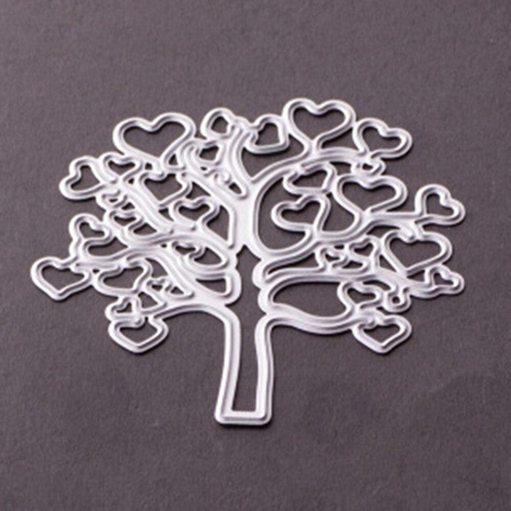 ̿̿̿(•̪ )Nuevo DIY metal Recortes de papel plantillas corazones ...