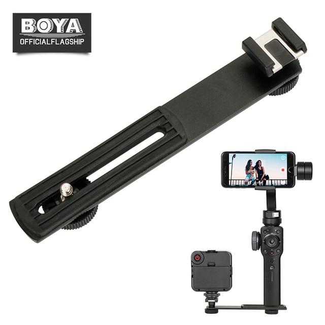 Boya By C01 Aluminium Cold Shoe Bracket For Microphone Led Light