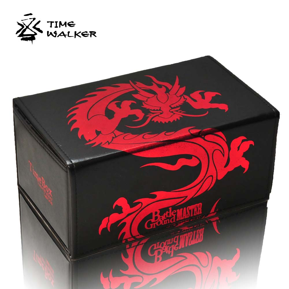TW Leather On The Open Box For The Dragon Game King Front Battle Capacity 180 Sheets