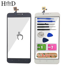 HelloWZXD 5.5 For Oukitel U20 Plus Touch Screen Glass Digitizer Panel Touchscreen Front Glass Lens Sensor Free Adhesive