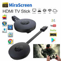 Miracast Android TV Stick MiraScreen WiFi TV dongle receptor 1080P DLNA AirPlay Media Streamer adaptador