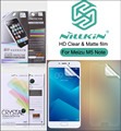 Nillkin Matte Clear Screen Protective film For Meizu M5 Note Soft Transparent Anti-Glare
