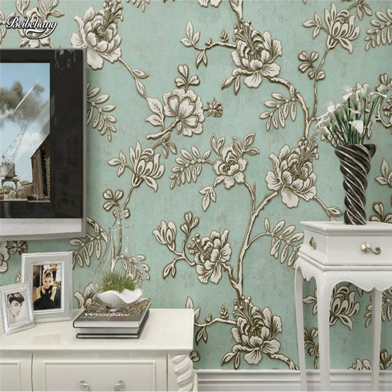 beibehang European Wallpapers Living Room TV Background Wallpaper 3d 3D Bedroom papel de parede Wallpaper Luxurious Wallpaper large mural papel de parede european nostalgia abstract flower and bird wallpaper living room sofa tv wall bedroom 3d wallpaper