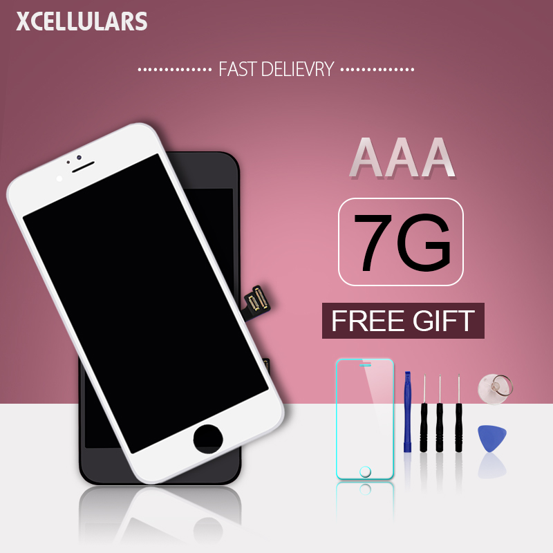 50pcs lot XCELLULARS Grade AAA Pantalla Quality 3D Touch Digitizer Display For LCD iPhone 7 Screen
