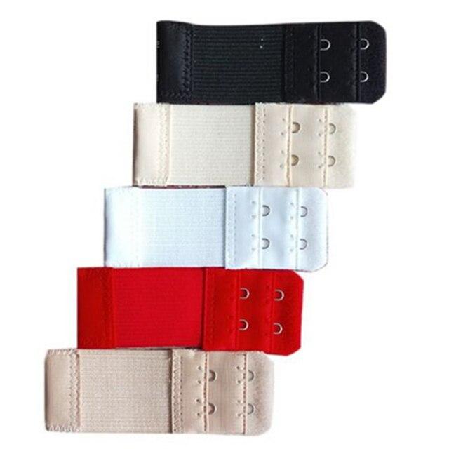 6e0ed7948fecf Elastic Band Bra Extender 2 Hook Clasp Strap Underwear Belt Adding Sewing  Tools Intimates Accessories