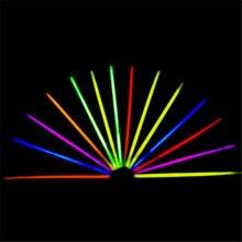 "100pcs! 8"" Multi Color Glow Light Stick Bracelets Necklace Glowsticks Xmas Christmas Party Supplies Neon Fluorescent Lightstick"