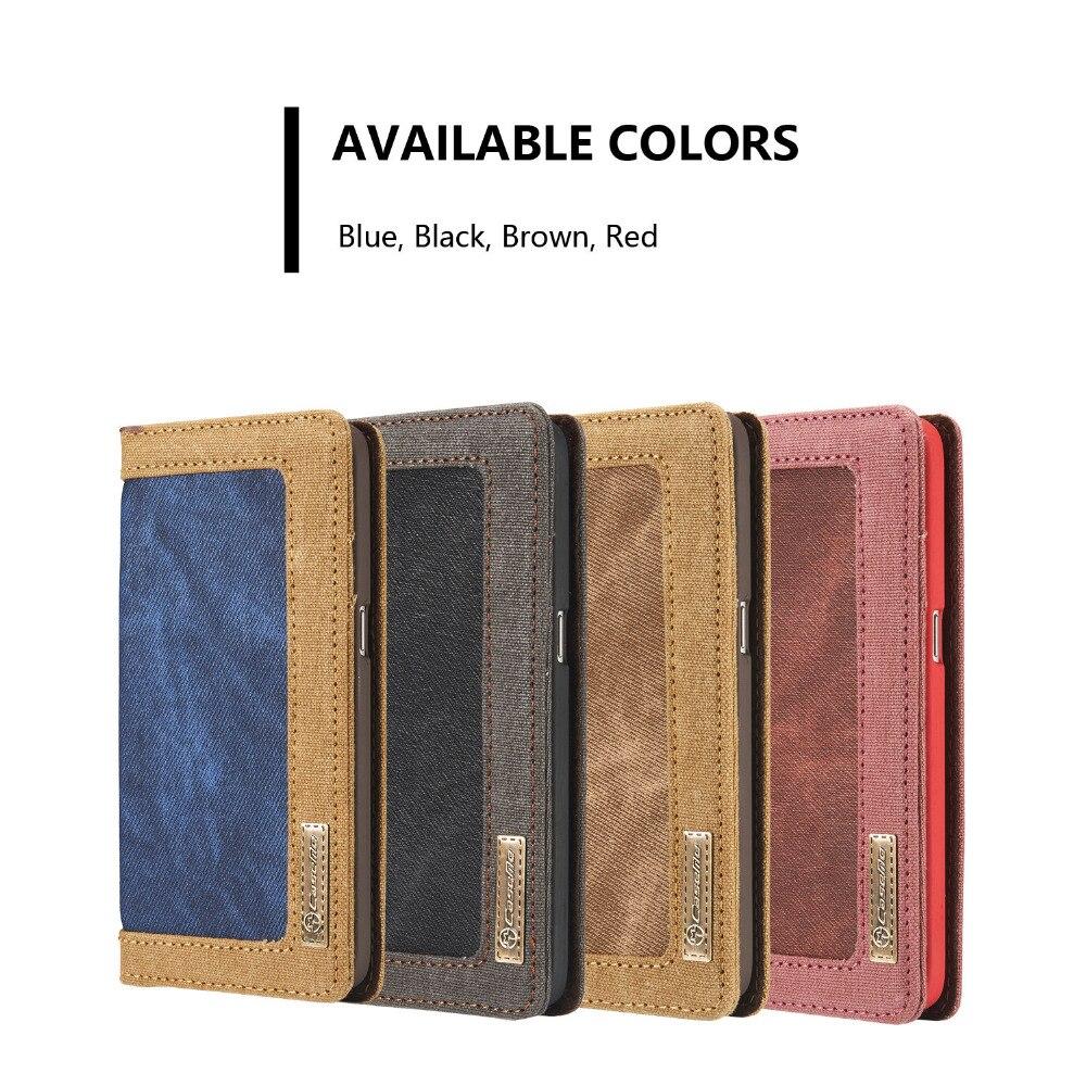 Vintage Jean cuir fentes pour cartes et cadre Photo portefeuille étui pour samsung Galaxy S7/Edge étui couverture Original coques de téléphone portable Funda