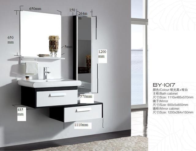Us 500 0 Luxury Italy Design Modern Wall Hung Bathroom Vanity Vanity Cabinets في Luxury Italy Design Modern Wall Hung Bathroom Vanity Vanity