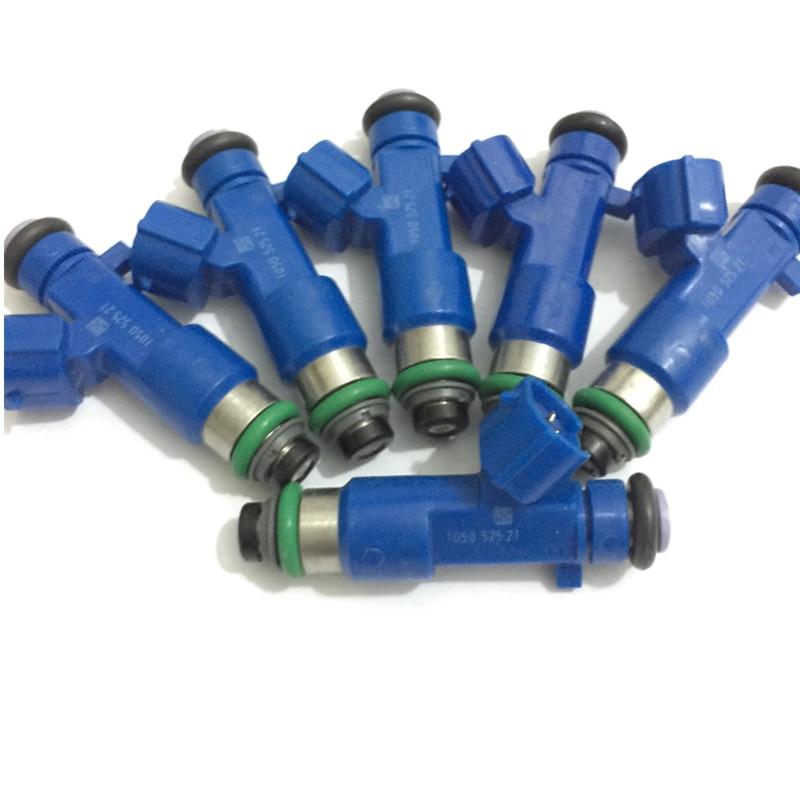 4x OEM Fuel Injector 7506158 BMW 1 3 X3 Z4 SERIES E46 E87 E83 E83N LCI E85 E90
