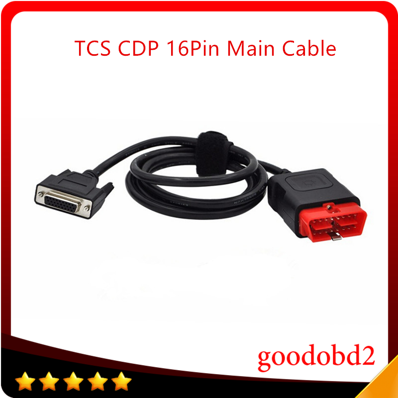 TCS CDP DS150 16 Pin LED Main Cable Suitable for TCS Scanner CDP PRO Plus Auto Cable 16pin Testing Cable Multidiag PRO Cable